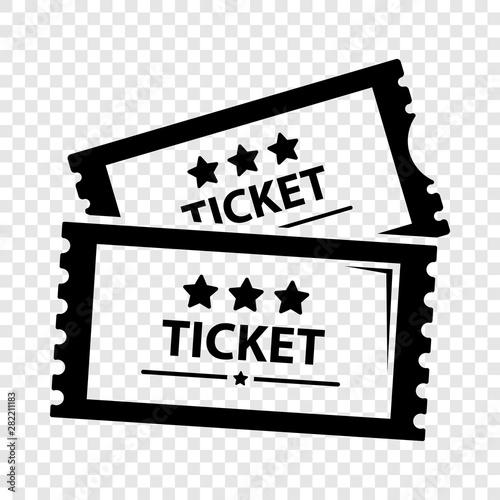 Cuadros en Lienzo  Cinema ticket icon