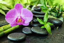 Spa Concept With Zen Stones, O...