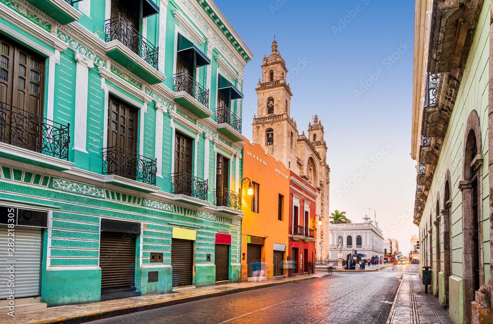 Fototapeta Merida, Yucatan - Mexico