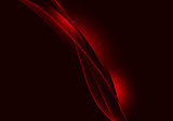 Abstract background waves. Black and red abstract background for wallpaper oder business card