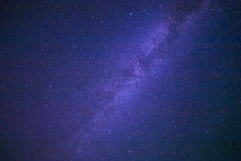 View Of Milky Way Galaxy In Night Sky