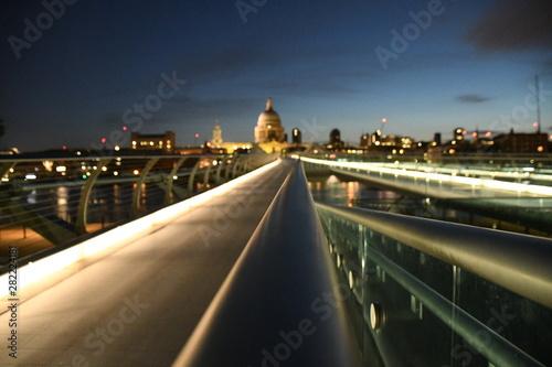 Millennium Bridge, London Canvas Print