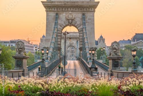 Foto auf Leinwand Budapest Budapest skyline in Hungary