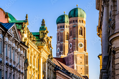 Famous Munich Cathedral - Liebfrauenkirche