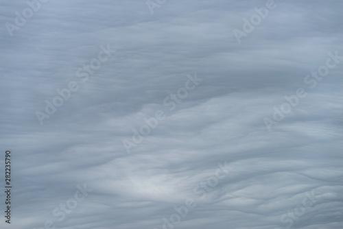 Fényképezés Eerie sky with ominous stormy weather