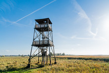 Wooden Lookout Tower Over The ...