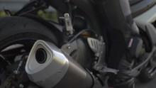 Detailed Shot Of Suzuki 750 GSXR Motorbike