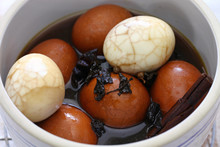Homemade Tea Eggs, Taiwanese F...