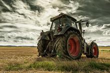 Tractor Closeup