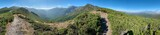 Fototapeta  - view of the mountain valley, panorama, Los Ancares, Spain