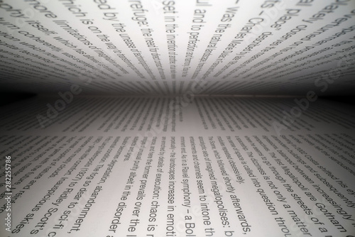 Fotografía  Inside the book concept