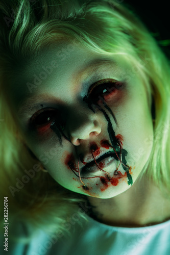 Fototapety, obrazy: portrait of zombie
