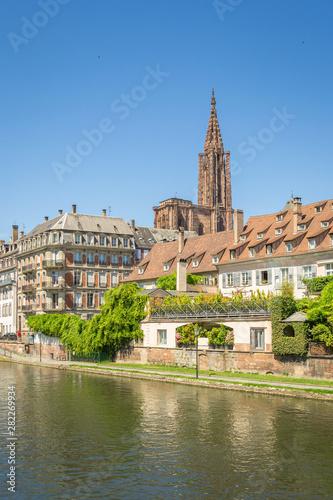 Fotografie, Obraz  Cityscape of Strasbourg, France