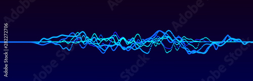Photo  Sound wave element