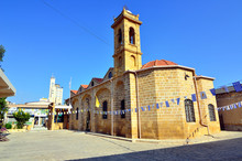 Old Byzantine Church In Nicosi...