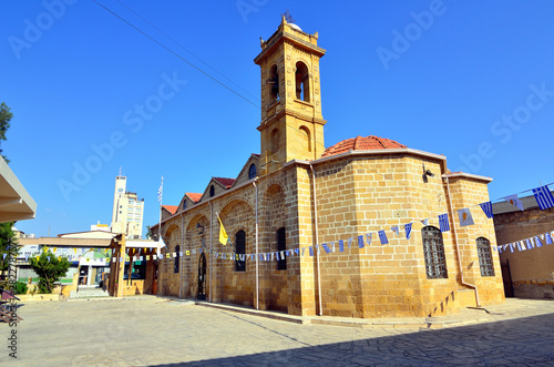 Canvastavla old byzantine church in nicosia in cyprus