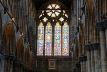 Glasgow Cathedral Interior - Glasgow, Scotland, UK