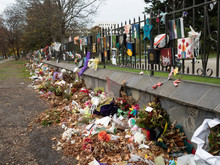 Tributes Fading At The Mosque ...