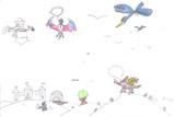 Dziecięcy rysunek, Wielka przygoda