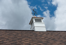 Roof  Cupola And Weathervane