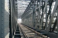 Puente De Hierro Ferrocarril Puerto Malaga