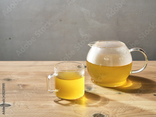 Recess Fitting Countryside Hot Tea Specialty Drink