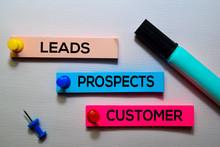 Leads, Prospects, Customer Tex...
