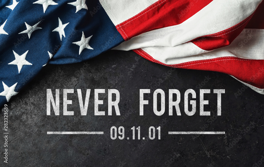 Fototapety, obrazy: Patriot Day - Never Forget