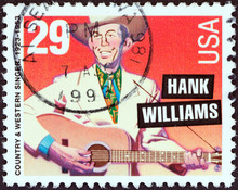 Country & Western Singer Hank Williams (USA 1993)