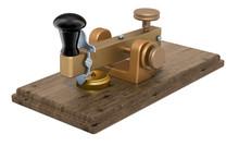 Ancient Telegraph Device, 3D R...