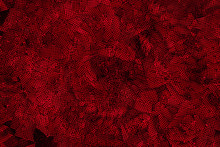 Red Circular Abstract Perforated Texture, Design Element