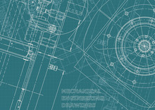 Corporate Identity, Plan, Sketch. Technical Illustrations, Backgrounds