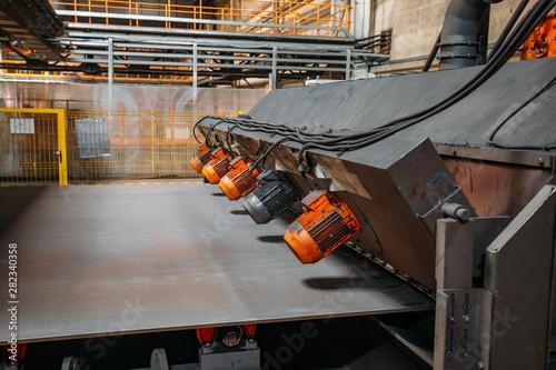 Roller conveyor shot blasting machine Canvas-taulu