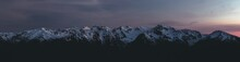 Panorama Of Olympic Mountain R...