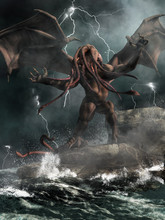 Cthulhu, The Great Old One Of ...