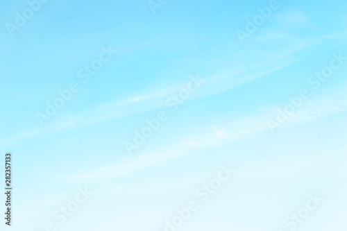Soft cloudy is gradient pastel,Abstract sky background in sweet color Wallpaper Mural