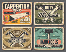 Hand Tools, Hammers, Spanners,...