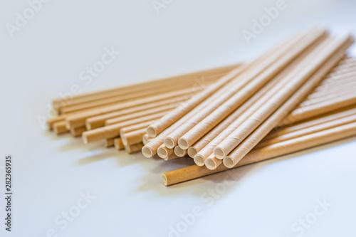 Fotografia Paper straw / ロー / ペーパーストロー / ストロー