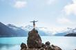 canvas print picture - Garibaldi lake
