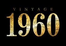 Vintage 1960 (Ancient Gold)