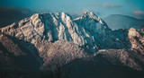 Fototapeta Fototapety z naturą - Twilight in the mountains. Panoramic view