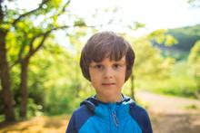 Cute Brown-eyed Boy.