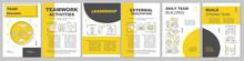 Team Building Brochure Templat...