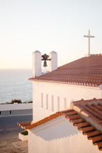 A Church Overlooking The Sea