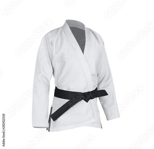 Judogi with black belt Fototapet