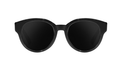 Black sunglasses isolated o...