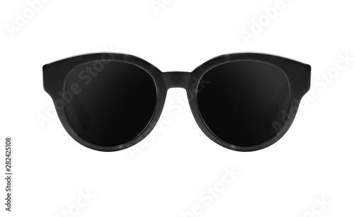 Black sunglasses isolated o...