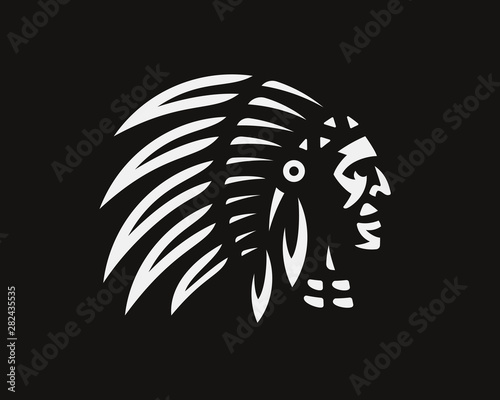 Photo American Indian logo