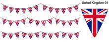 イギリスの国旗のガー...