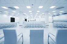 Modern White Auditorium